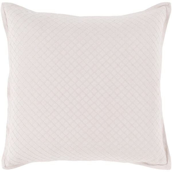 Troene Square 100% Cotton Throw Pillow by Lark Manor
